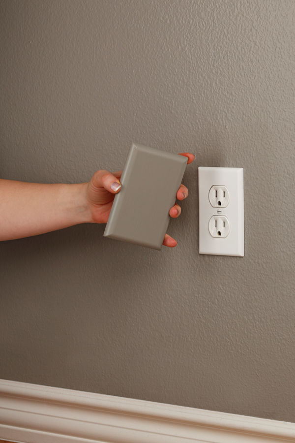 coverplug paintable electrical outlet cover
